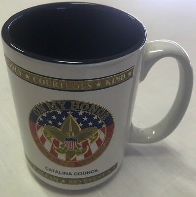 ⚜ Boy Scout BSA Catalina Council, Arizona, Coffee Mug Cup Never used