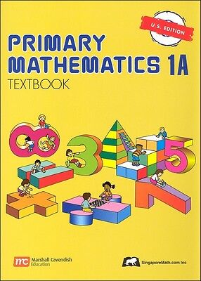 Primary Mathematics 1A Textbook U.S. Edition