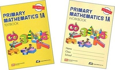 Primary Mathematics 1A SET -- Textbook and Workbook U.S. Edition