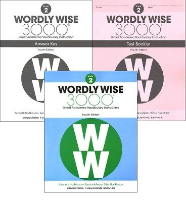 Wordly Wise 3000 Grade 8 Set Student And Key New 3rd Edition