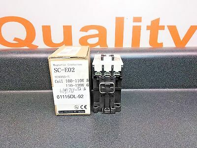 Fuji Electric Magnetic Contactor SC-E02 SE09AA-H  (NEW IN BOX)
