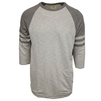 Vans Off The Wall Men's Chandler Thermal Raglan 3/4 Sleeve Crewneck (Retail $55)