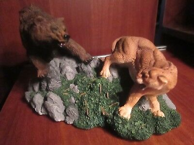 """Bear Grizzly Adversaries"" issued by Living Stone"