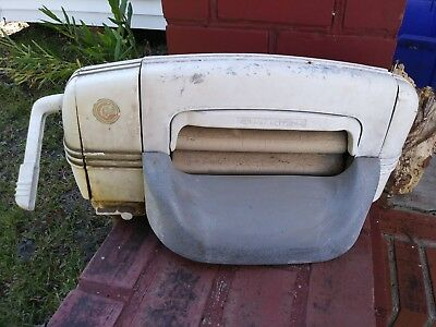Antique Speed Queen Washing Machine Vintage wringer only metal art deco styling