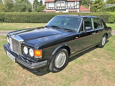 1994 Bentley Turbo R + 69500m + looks stunning in Black with black+12M MOT