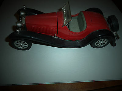 Bburago 1:24 W/b 1932 Bugatti Type 55 Diecast Car Model Red