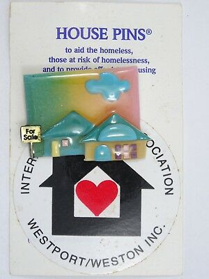 HOUSE PINS by LUCINDA FOR SALE HOUSE BROOCH ** NEW **