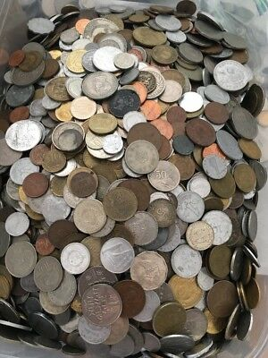 10 Pound Lot Of World Coins
