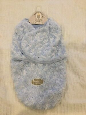 BNWT: Blankets and Beyond Swaddle. 0-3 Months. Baby Blue.