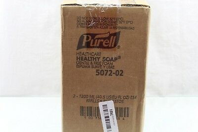 PURELL Hand Soap,1200mL Size,Pump Bottle,PK2, 5072-02 Pack Of 2 BE10-11