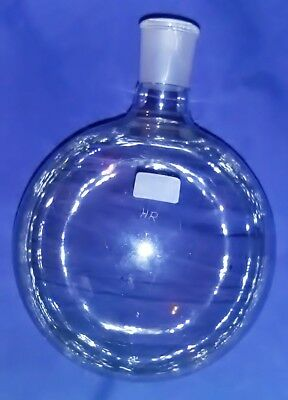 Quickfit 1 Litre Round Bottom Flask With Stopper