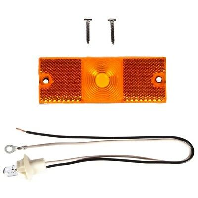 Truck-Lite 18 Series Reflectorized Yellow Rectangle Incan. M/C Light Kit