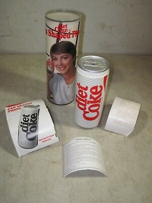 Vintage 1985 Diet Coke Can Shaped Telephone Coca-Cola Phone