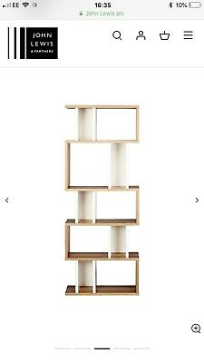 93d68369ddfc Content by Terence Conran Counterbalance Alcove Shelving, Oak/White John  Lewis