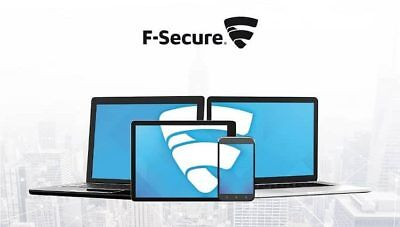 F-Secure Safe 2019 Internet Security 🔐 1 Year License Key 🔑 5 Devices 💻