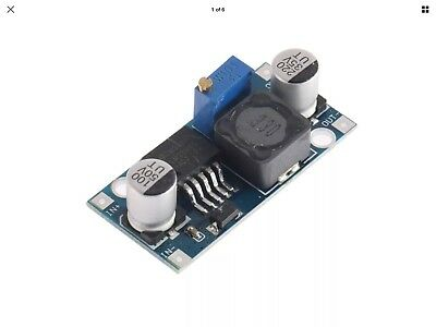7 X LM2596S DC-DC Buck module 4-40V 2A adjustable step-down power