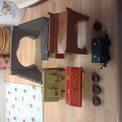 Model Railway Train Buildings OO Gauge job lot