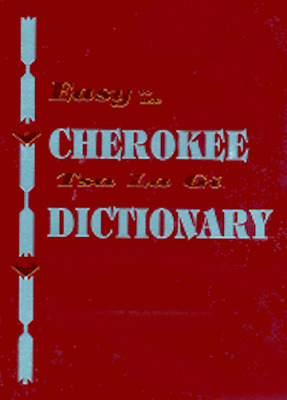 Cherokee Dictionary, Book, Native American Language, Books