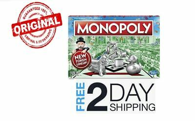 Monopoly The Classic Edition Traditional Family Fun Board Game NEW IN BOX NEW