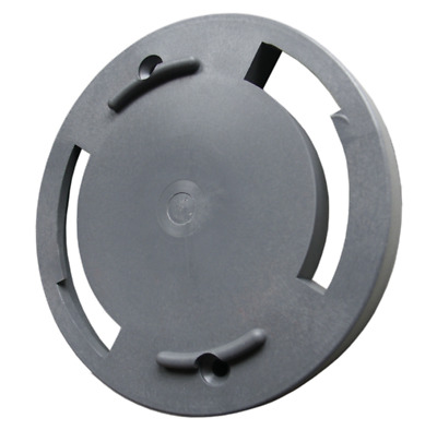 Holding Plate Storz Coupling B Plastic Grey Closed Fasten Cover