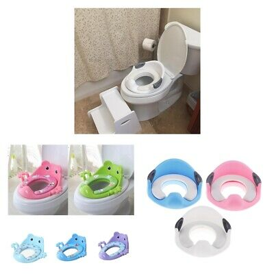 Kids Toddler Baby Child Potty Toilet Trainer Training SEAT with Handles