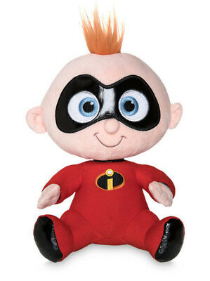 "Disney 8.5"" Plush Jack-Jack Super Baby Pixar The Incredibles 2 Stuffed Toy Nwt"