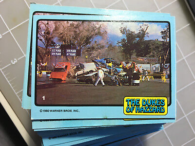 1980 Donruss Dukes of Hazzard complete your set ~ ALL cards $1.50.  EXC to NM