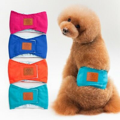 Pet Physiological Pants Puppy Dog Belly Band Diaper Cotton Sanitary Underwear