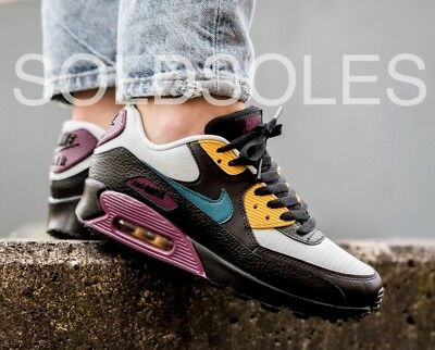 Nike Air Max 90 VT Men's Running Shoes White Purple #537384 122