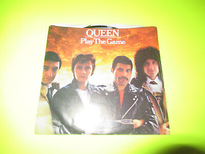 """Queen Play The Game 7"""" 45 Pic Sleeve"""