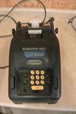 Remington Rand 93 Adding Machine Calculator