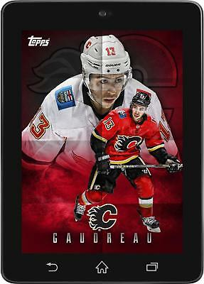 Topps SKATE Johnny Gaudreau POSTERS 2019 Wave 2 [DIGITAL CARD] 150cc