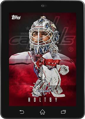 Topps SKATE Braden Holtby POSTERS 2019 Wave 2 [DIGITAL CARD] 150cc