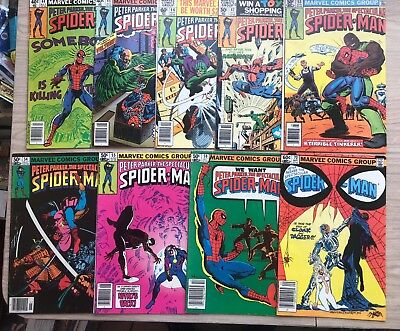 Peter Parker The Spectacular Spider-Man Group Lot  Cloak And Dagger Appearance
