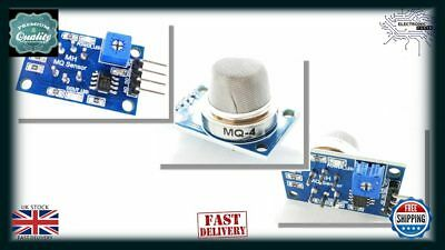 Arduino Methane & Natural Gas Sensor Detector MQ004