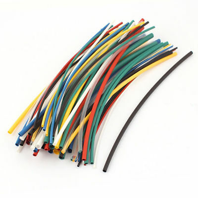 70Pcs 2:1 HEAT SHRINK TUBING ELECTRICAL SLEEVING CABLE/WIRE HEATSHRINK TUBE