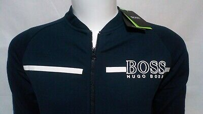 Hugo Boss Men Slim Fit 3D Sweatshirt Fleece Pullover Jumper Jersey  Rrp £90