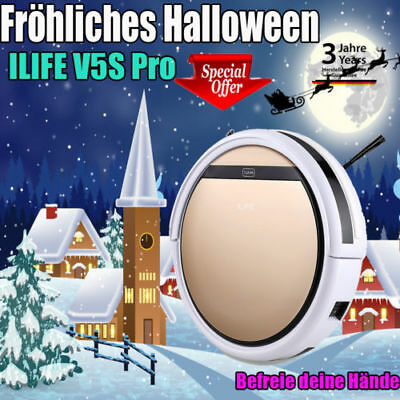 ILIFE V5S Pro Smart Staubsauger Vacuum Cleaner Robotic Cordless Dry Wet Sweeping