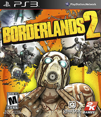 Borderlands 2 (Sony PlayStation 3, 2012) (PS3) Brand New Factory Sealed