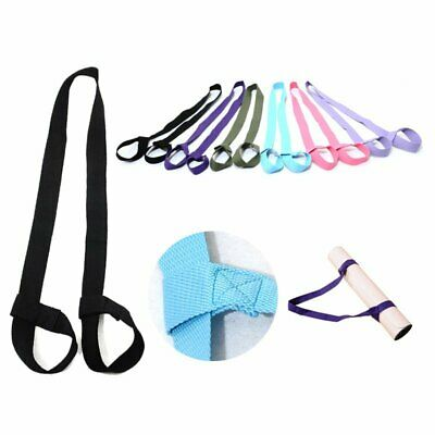 Yoga Mat Carry Stretch Strap Polyester Azo-free shoulder carrier sling EA