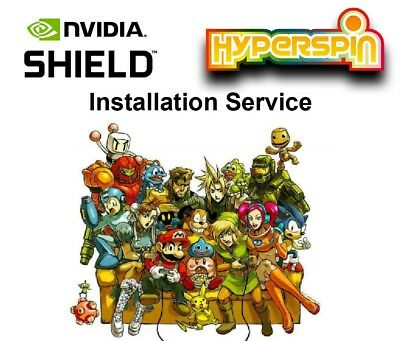 NVIDIA SHIELD Streaming Apps + Hyperspin Installation Service