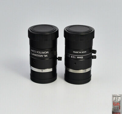 NEW WITHOUT BOX CCD CAMERA LENS MORITEX ML-M5028MP5 via DHL or EMS