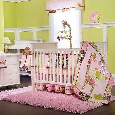Carter's Jungle Jill, 4 Piece Baby Crib Bedding  (Discontinued by Manufacturer)
