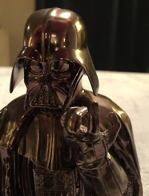 Gentle Giant Darth Vader Chrome Bust! No Box