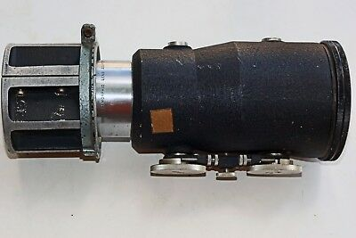 Vintage Hilux Variable 152 Anamorphic CinemaScope Projector SINGLE FOCUS LENS VG