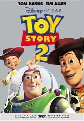 Toy Story 2 (DVD, 1999) AMAZING DVD IN PERFECT CONDITION!DISC AND ORIGINAL CASE