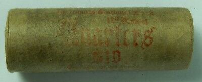 Silver Quarter Roll Washington Standing Liberty Barber 90% 1892 & SL Ends 75