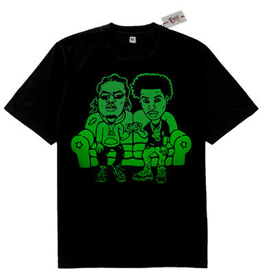 Groovy Fnly94 Black Green Gunna Lil Baby Drip Hard Couch Shirt Caraccident5 Cool Chair Designs And Ideas Caraccident5Info
