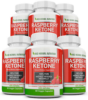 6X Advanced Weight Loss RASPBERRY KETONE Extremely Fast Acting Fat Burner Strong