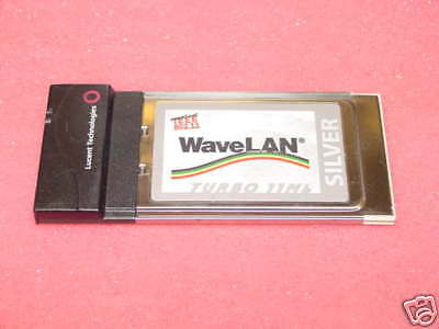 Lucent WaveLan Turbo Silver Wireless WIFI PCMCIA Card